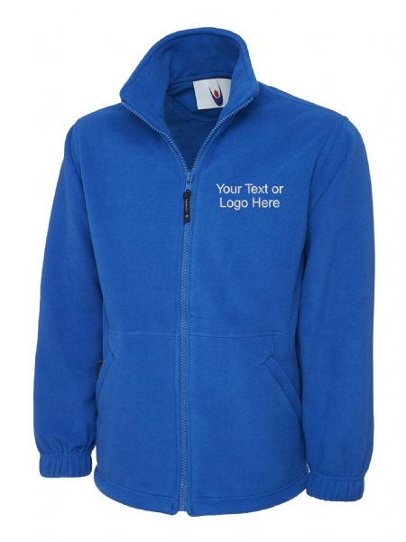 UC601 Heavy Premium Full Zip Fleece Jacket